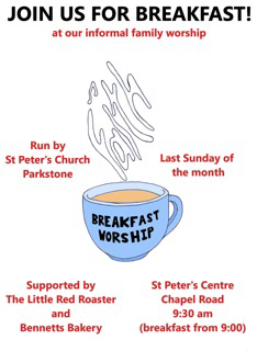 Breakfast Worship poster Sep 13