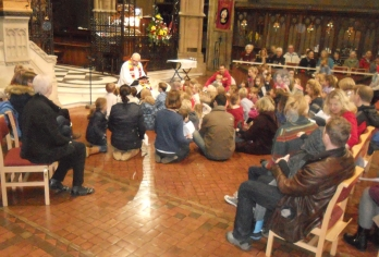 Children and Young People at St Peter's Parkstone Church